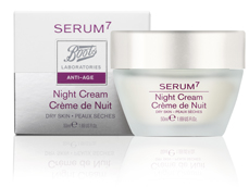 SERUM 7 NIGHT CR DRY SKIN 50ML