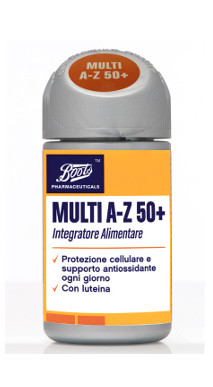 BOOTS P MULTI A-Z 50+ 60CPR