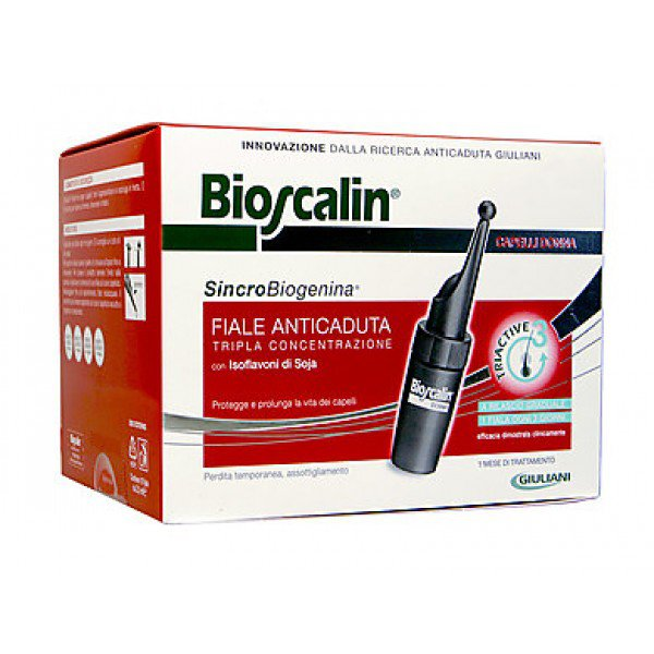 Bioscalin Anticaduta Donna Sincrobiogenina 10fl 1