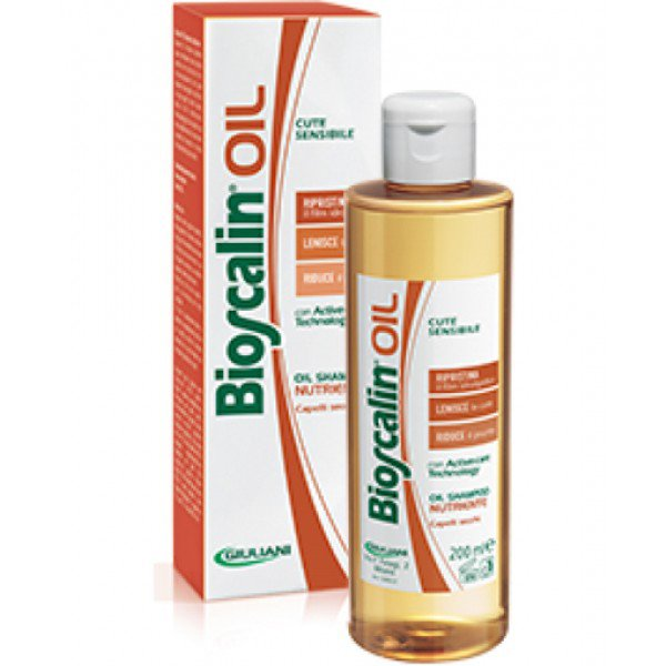 Bioscalin Oil Olio Shampoo Nutriente 200ml 1