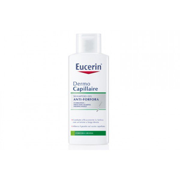 Eucerin Dermo Capillaire Shampoo-gel Anti-forfora 250ml 1