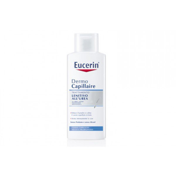 Eucerin Dermo Capillaire Shampoo Lenitivo All'urea 5% 250ml 1