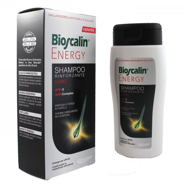 Bioscalin Energy Shampoo Rinforzante Uomo 200ml 1
