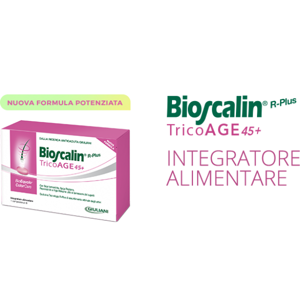 Bioscalin R-plus Tricoage 45+ 30 Compresse 1